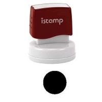 iSTAMP Pre-Inked Laser Stamp is49 (round) 30mm