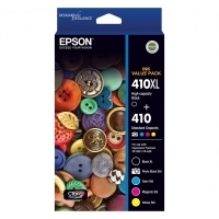 Epson Ink Cartridge 410 Value Pack (BXL PB C M & Y)