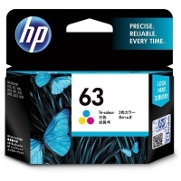 HP Ink Cartridge 63 F6U61AA Tri-Colour