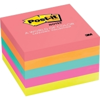 Post It Notes 654-5PK Capetown Neon 76x76mm PK5