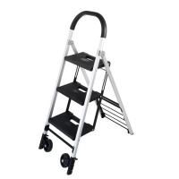 Durus Folding 3 Step Ladder/Trolley