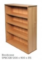 Rapid Span Bookcase H1200xW900xD315mm Beech