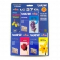 Brother Ink Cartridge LC37CL3PK 3pack (1ea Cyan Magenta Yellow)
