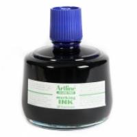 Artline Permanent Marker Refill Ink - ESK3 330cc Bottle Blue