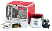 Badgy Card ID Printer No 200 & Starter Kit-Incl.Plastic Cards