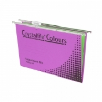 Crystalfile Suspension Files Complete Tabs&Inserts PK10 Purple