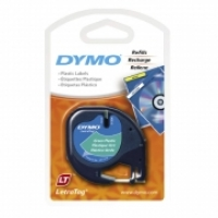 Dymo Letratag Labelling Tape PVC 91204 Green