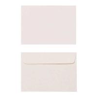 Quill Envelope 80gsm C6 114x162 Pack 25 - Cream