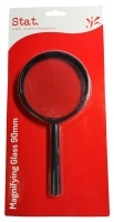 STAT MAGNIFYING GLASS 90mm Black