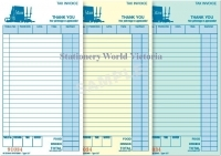 Zions Restaurant Docket Book 22T 200x100mm Carbonless Trip