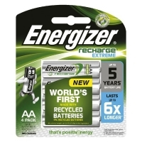 Energizer Battery Rechargeable Digital AA 2300mAh Card 4