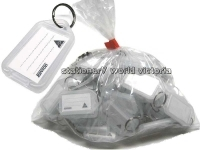 Kevron Key Tags - ID5 Clicktags BAG50 Clear