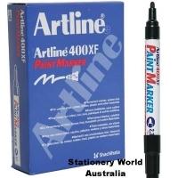 Artline 400XF Paint Marker 2.3mm Black BX12