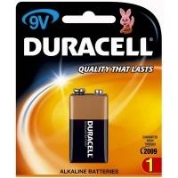 Duracell Battery Coppertop Alkaline 9volt