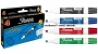 Sharpie Whiteboard Marker AP013213 Chisel Asstd PK4