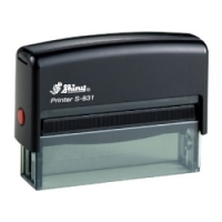 Shiny Self-Inking Stamp S831 68x8mm