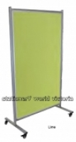 MODULO Mobile Pinboard communication 1800x1000mm Lime