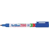 Artline 700 Marker Permanent Fine Bullet Blue