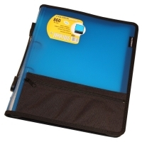 Foldermate Compendium A4 Zipper Binder 860B 2Ring Blue