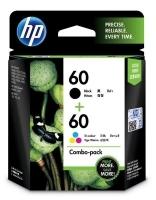 HP 60 Ink Cartridge CN067AA Black & Colour Pack