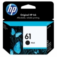 HP Ink Cartridge 61 CH561WA Black