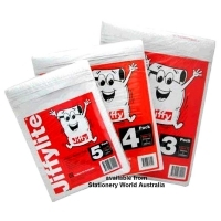 JiffyLite MailBag No.4 240x340mm (Pack of 3) 604104