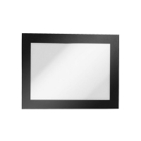 Durable Magaframe Sign Holder A6 Adhesive Back PK2 Black