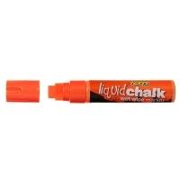 Texta Jumbo Liquid Chalk Wet Wipe Marker 15mm Orange