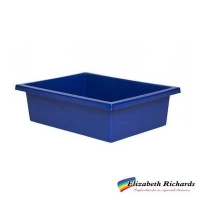 Elizabeth Richards Plastic Tote Tray Blue