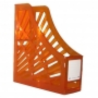 Italplast Magazine File Holder (Tint) Orange