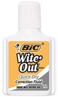 BIC Witeout Correction Fluid 50605 20ml Quick Dry