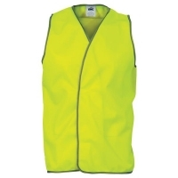 ZIONS 3801 SAFETY VEST Daytime Hivis Yellow