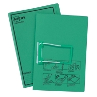 Avery Tubeclip File BX20 Green Printed Black 84432
