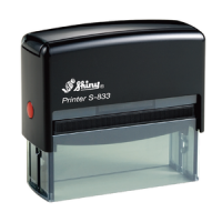 Shiny Self-Inking Stamp S833 80x25mm