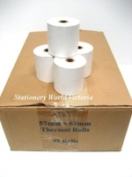 Acorn Cash Register Thermal  Roll 57x57mm BX48