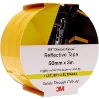 3M 983-71 REFLECTIVE TAPE Diamond 50mm x 3M Yellow