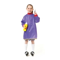 ART SMOCK EC JUNIOR ARTIST FOR AGES 5-8 PURPLE