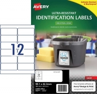 Avery L7913 Ultra-Resistant Outdoor Labels PK10sh 12/sh
