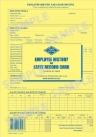 Zions Employee History & Leave Card PK20 EHR2