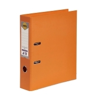 MARBIG PE LINEN LEVER Arch File A4 Orange