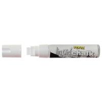 Texta Jumbo Liquid Chalk Wet Wipe Marker 15mm White