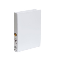 Marbig Clearview Insert Binder A4 2D 25mm (200page) White BX20