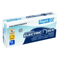 Rapid Staples 66/6 (6mm) Box 5000