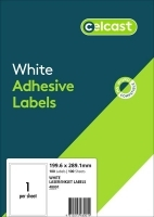 CELCAST Labels 48001 BX100 1/sheet 199.6x289.1mm