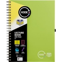 Spirax Lecture Book Kode A4 958 200Page Green