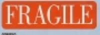Dispenser Label FRAGILE 19x63mm BX250