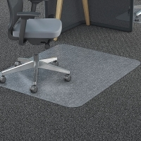 Marbig Chairmat Tuffmat Polycarbonate 87190 Rect Small 90x120cm