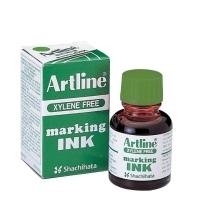 Artline Permanent Marker Refill Ink - ESK20 20cc Bottle Green