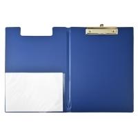 Bantex Clipboard Clipfolder A4 PVC 4240-01 Blue