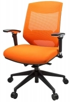 Vogue Mesh Mid Back ffice Chair W04M Orange
